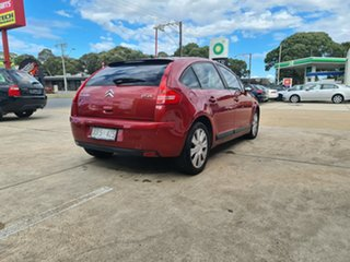 2008 Citroen C4 Red 4 Speed Automatic Hatchback.