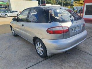 1999 Daewoo Lanos SE Silver 5 Speed Manual Hatchback.