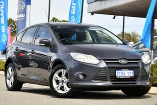 2012 Ford Focus LW MkII Trend PwrShift Grey 6 Speed Sports Automatic Dual Clutch Hatchback.
