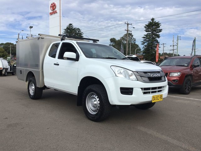 Used Isuzu D-MAX MY15 SX Space Cab Cardiff, 2014 Isuzu D-MAX MY15 SX Space Cab White 5 Speed Sports Automatic Cab Chassis