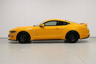 2018 Ford Mustang FN Fastback GT 5.0 V8 Orange 10 Speed Automatic Coupe