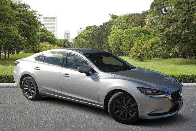 Demo Mazda 6 GL1033 Sport SKYACTIV-Drive Paradise, 2021 Mazda 6 GL1033 Sport SKYACTIV-Drive Sonic Silver 6 Speed Sports Automatic Sedan