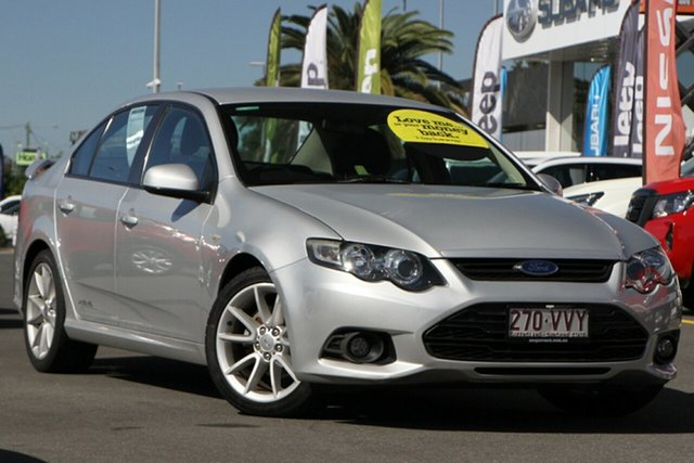 Used Ford Falcon FG MkII XR6 Aspley, 2014 Ford Falcon FG MkII XR6 Silver 6 Speed Sports Automatic Sedan