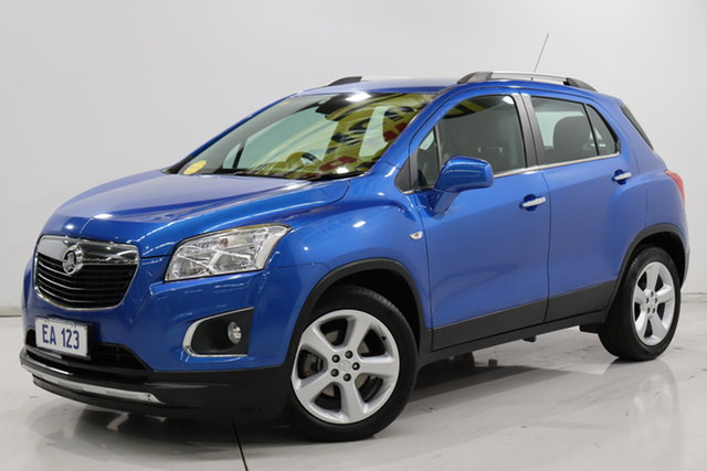 Used Holden Trax TJ MY16 LTZ Brooklyn, 2016 Holden Trax TJ MY16 LTZ Blue 6 Speed Automatic Wagon