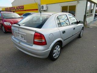 2004 Holden Astra Silver 5 Speed Manual Hatchback