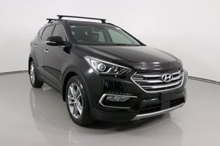 2016 Hyundai Santa Fe DM Series II (DM3)MY17 Highlander CRDi (4x4) Black 6 Speed Automatic Wagon.