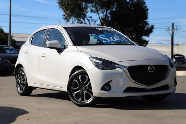 Used Mazda 2 DJ2HAA Genki SKYACTIV-Drive Kirrawee, 2015 Mazda 2 DJ2HAA Genki SKYACTIV-Drive Snowflake White 6 Speed Sports Automatic Hatchback