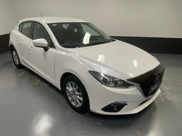 Used Mazda 3 BM5478 Maxx SKYACTIV-Drive Hamilton, 2015 Mazda 3 BM5478 Maxx SKYACTIV-Drive White 6 Speed Sports Automatic Hatchback