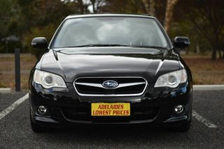 2008 Subaru Liberty B4 MY08 AWD Black 4 Speed Sports Automatic Sedan.