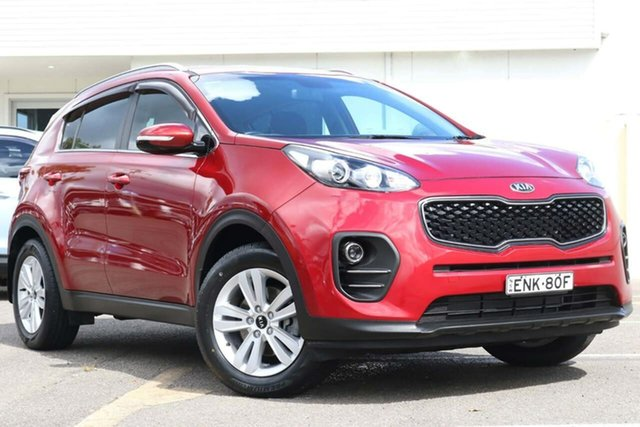 Used Kia Sportage QL MY18 Si 2WD North Gosford, 2017 Kia Sportage QL MY18 Si 2WD Red 6 Speed Sports Automatic Wagon