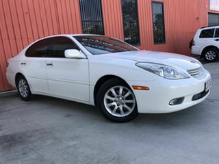 2002 Lexus ES MCV30R ES300 White 5 Speed Automatic Sedan.