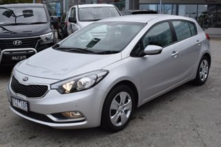 2014 Kia Cerato YD MY14 S Billet Silver 6 Speed Sports Automatic Hatchback