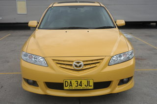 2003 Mazda 6 GG1031 Luxury Yellow 4 Speed Sports Automatic Sedan.