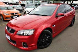 2012 Holden Commodore VE II MY12 SS V Red 6 Speed Manual Sedan.