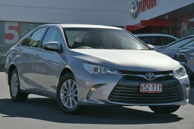 Pre-Owned Toyota Camry ASV50R Altise Woolloongabba, 2016 Toyota Camry ASV50R Altise Silver 6 Speed Sports Automatic Sedan