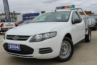 2014 Ford Falcon FG MkII EcoLPi Super Cab White 6 Speed Automatic Cab Chassis.