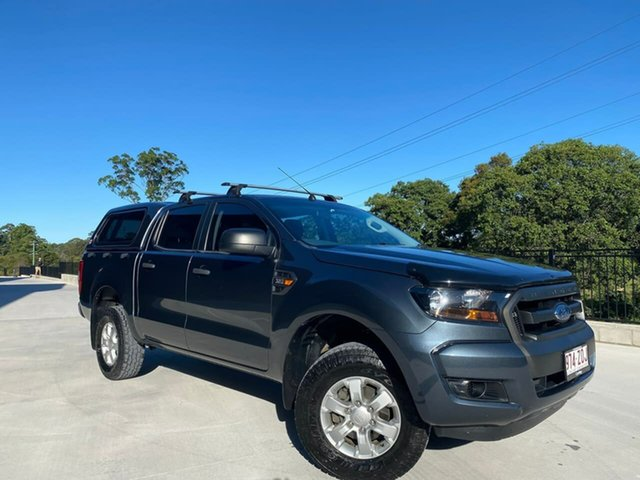 Used Ford Ranger PX MkII XL Cooroy, 2016 Ford Ranger PX MkII XL Grey 6 Speed Sports Automatic Utility