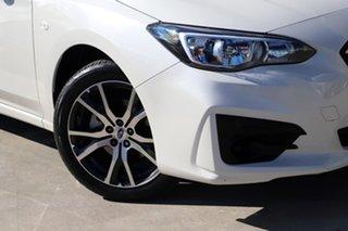 2018 Subaru Impreza G5 MY18 2.0i CVT AWD White 7 Speed Constant Variable Sedan