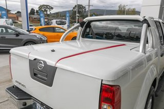 2012 Nissan Navara D40 S6 MY12 ST 25th Anniversary White 6 Speed Manual Utility