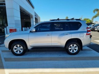 2016 Toyota Landcruiser Prado GDJ150R GXL Silver Pearl 6 Speed Sports Automatic Wagon