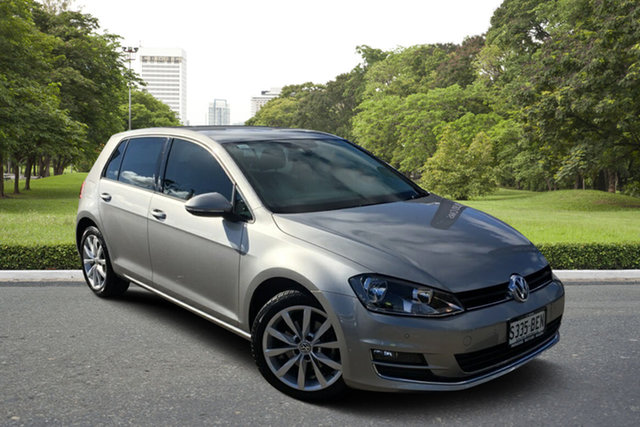 Used Volkswagen Golf VII MY15 110TDI DSG Highline Paradise, 2014 Volkswagen Golf VII MY15 110TDI DSG Highline Billet Silver 6 Speed Sports Automatic Dual Clutch