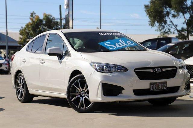 Used Subaru Impreza G5 MY18 2.0i CVT AWD Kirrawee, 2018 Subaru Impreza G5 MY18 2.0i CVT AWD White 7 Speed Constant Variable Sedan