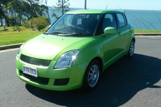 2010 Suzuki Swift RS415 GLX Green 4 Speed Automatic Hatchback