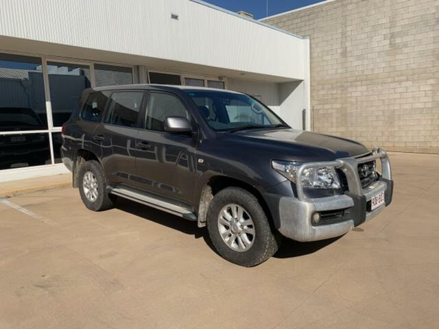 Used Toyota Landcruiser VDJ200R 09 Upgrade GXL (4x4) Emerald, 2011 Toyota Landcruiser VDJ200R 09 Upgrade GXL (4x4) Graphite 6 Speed Automatic Wagon