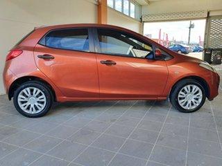 2010 Mazda 2 DE10Y1 Neo Orange 5 Speed Manual Hatchback