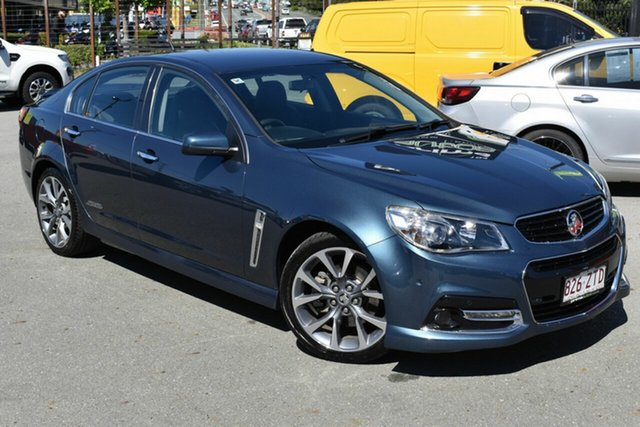 Used Holden Commodore VF SS-V Underwood, 2014 Holden Commodore VF SS-V Blue 6 Speed Automatic Sedan