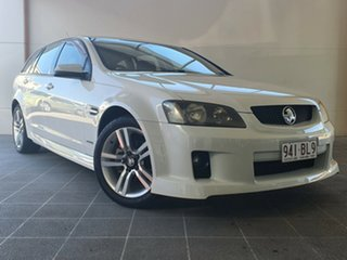 2010 Holden Commodore VE MY10 SV6 Sportwagon White 6 Speed Sports Automatic Wagon.