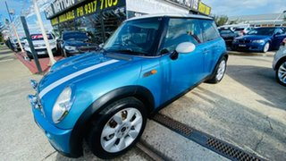 2004 Mini Hatch R50 MY03 Cooper Blue 6 Speed Constant Variable Hatchback