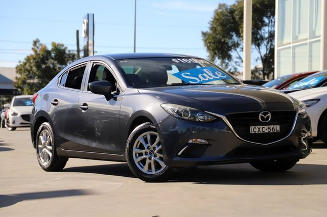 Used Mazda 3 BM5276 Touring SKYACTIV-MT Kirrawee, 2014 Mazda 3 BM5276 Touring SKYACTIV-MT Grey 6 Speed Manual Sedan