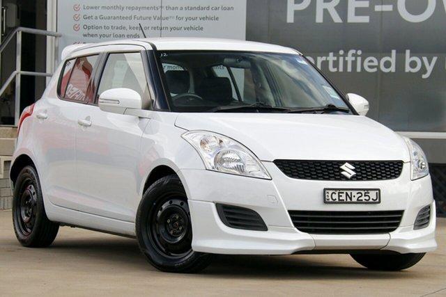 Pre-Owned Suzuki Swift FZ GL Guildford, 2011 Suzuki Swift FZ GL White 4 Speed Automatic Hatchback