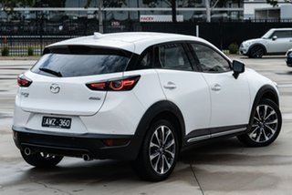 2018 Mazda CX-3 DK4W7A Akari SKYACTIV-Drive i-ACTIV AWD White 6 Speed Sports Automatic Wagon.
