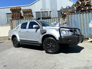 2012 Holden Colorado RG MY13 LX Crew Cab Silver 5 Speed Manual Utility.