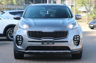 2018 Kia Sportage QL MY18 GT-Line (AWD) Silver 6 Speed Automatic Wagon