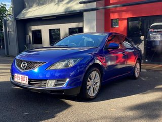 2008 Mazda 6 GH1051 Classic Metallic Blue 5 Speed Sports Automatic Sedan