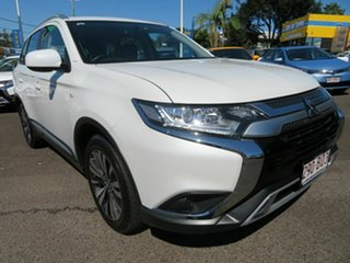 2019 Mitsubishi Outlander ZL MY19 ES AWD White 6 Speed Constant Variable Wagon.
