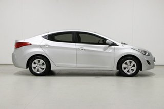 2012 Hyundai Elantra MD Active Silver 6 Speed Automatic Sedan