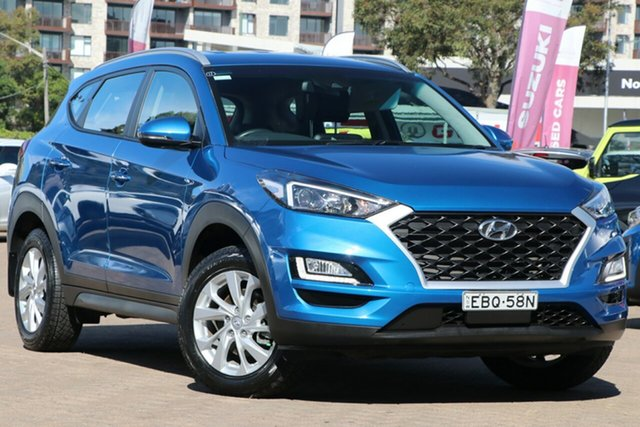 Used Hyundai Tucson TL3 MY19 Active X (FWD) Rosebery, 2019 Hyundai Tucson TL3 MY19 Active X (FWD) Blue 6 Speed Automatic Wagon