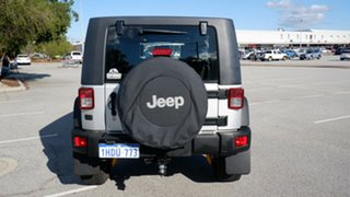 2008 Jeep Wrangler JK MY2008 Unlimited Rubicon Silver 6 Speed Manual Softtop