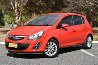 2012 Opel Corsa CO Enjoy Red 4 Speed Automatic Hatchback.