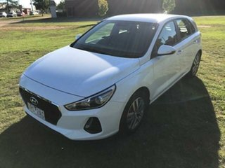 2019 Hyundai i30 PD2 MY19 Active White 6 Speed Automatic Hatchback.