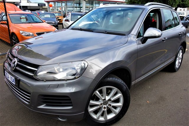 Used Volkswagen Touareg 7P MY12.5 V6 TDI Tiptronic 4MOTION Seaford, 2012 Volkswagen Touareg 7P MY12.5 V6 TDI Tiptronic 4MOTION Grey 8 Speed Sports Automatic Wagon