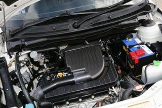 2011 Suzuki Swift FZ GL White 4 Speed Automatic Hatchback