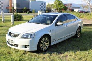 2011 Holden Caprice WM II V White 6 Speed Sports Automatic Sedan.