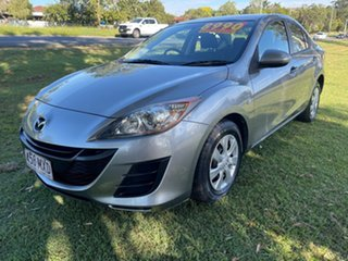 2010 Mazda 3 BL10F1 MY10 Neo Activematic Silver 5 Speed Sports Automatic Sedan