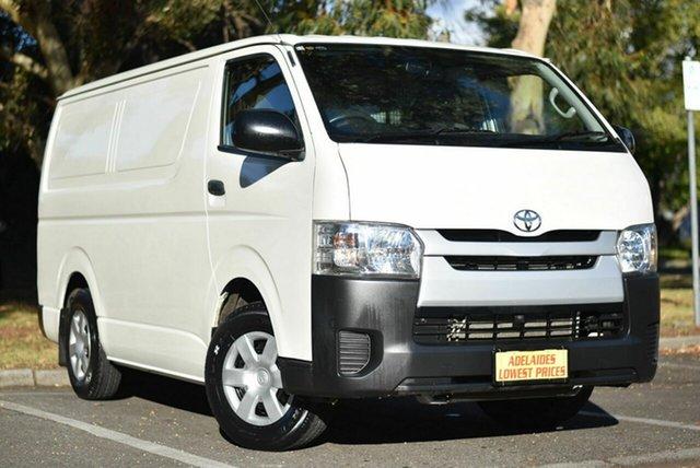 Used Toyota HiAce TRH201R LWB Melrose Park, 2015 Toyota HiAce TRH201R LWB White 5 Speed Manual Van
