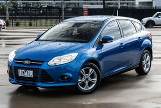 2014 Ford Focus LW MkII Trend Blue Sports Automatic Dual Clutch Hatchback.